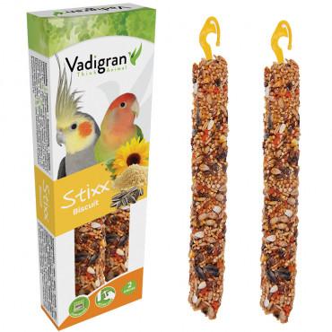 Sticks Stixx com biscoito para grandes periquitos - Vadigran