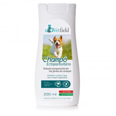 Vetfield Champô ectoparasitário para cão
