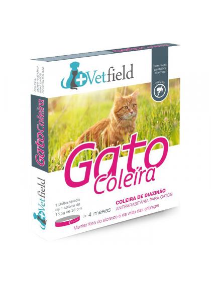 Vetfield Coleira antiparasitária para gato