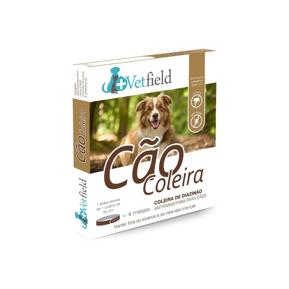 Vetfield Coleira antiparasitária para cão - Raças pequenas