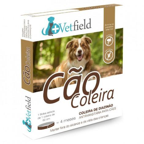 Vetfield Coleira antiparasitária para cão - Raças grandes