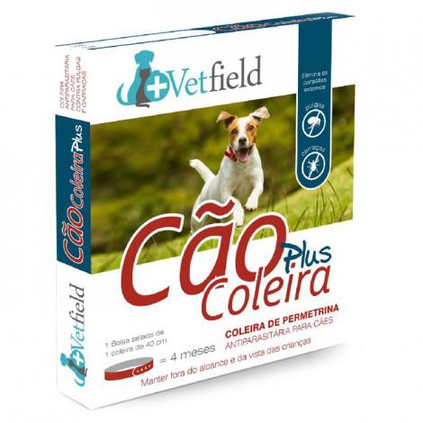 Vetfield Plus Coleira antiparasitária para cão - Raças pequenas