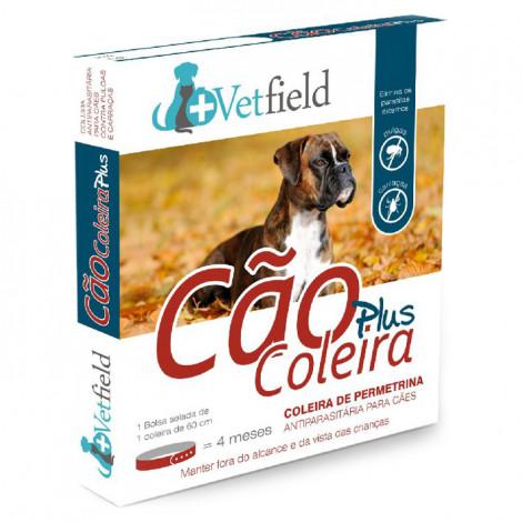 Vetfield Plus Coleira antiparasitária para cão - Raças médias