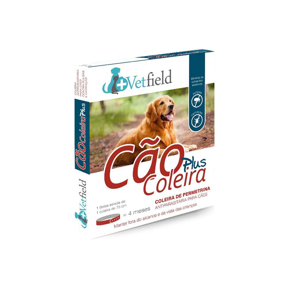 Vetfield Plus Coleira antiparasitária para cão - Raças grandes