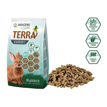 Alimento granulado Terra Expert para coelhos - Vadigran