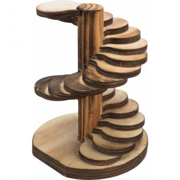 Torre em madeira para roedores