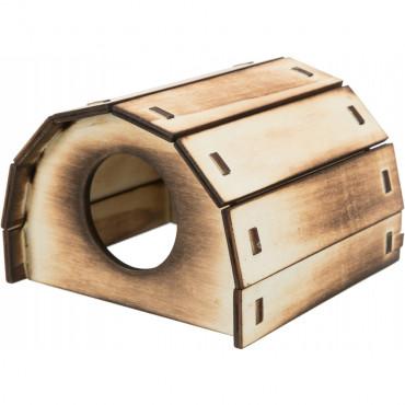 Casa Mikkel em madeira