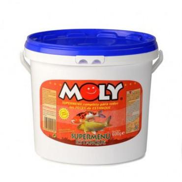 Moly - Supermenu Estanque (Peixes de Lago) 600gr
