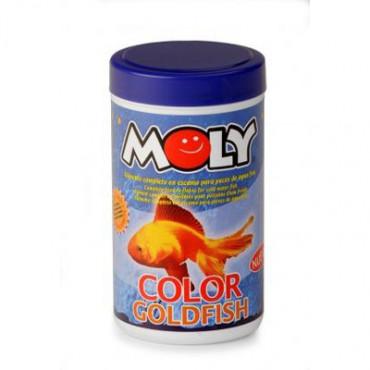 Moly - GoldFish/Peixes de Água Fria 200gr