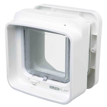 Porta gateira com identificação microchip individual - Sureflap