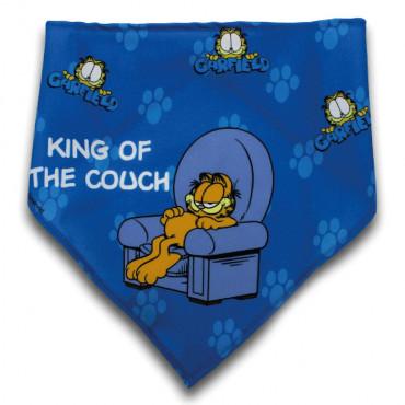 Lenço Garfield para cão King of the couch