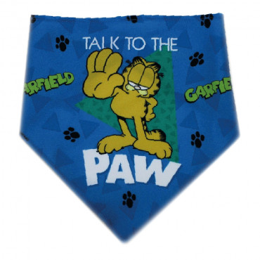 Lenço Garfield para cão Talk to the paw