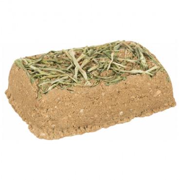 Pedra de argila com salsa