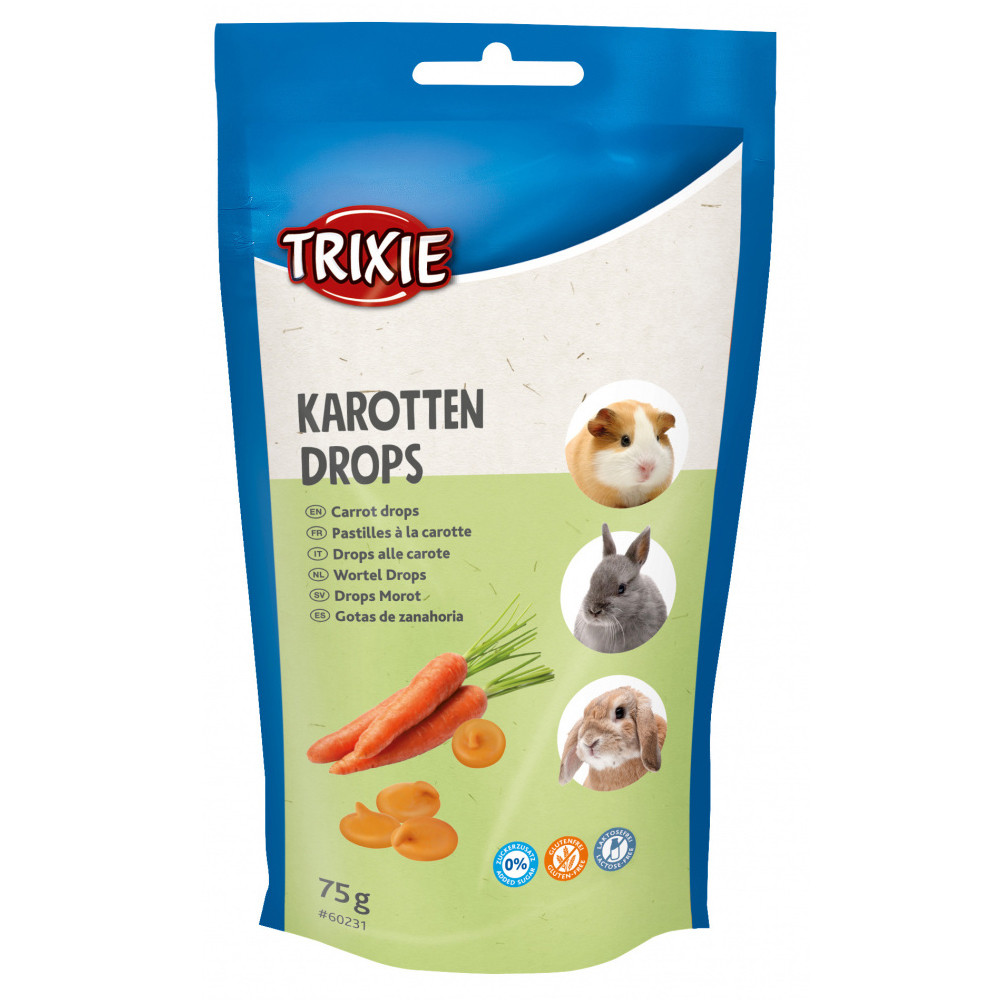 Snack vitamínico de cenoura para roedores - Trixie