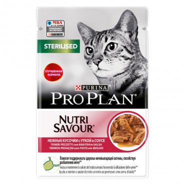 Pro Plan Nutrisavour Sterilised Gato adulto - Pato