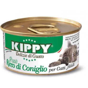Kippy Patê para gato adulto - Coelho