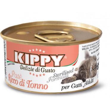 Kippy Patê para gato esterilizado - Atum