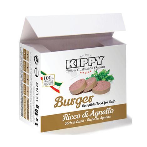KIPPY Hambúrguer de cordeiro para gato