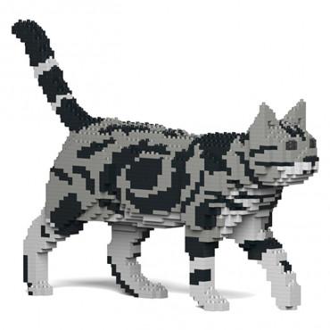 JEKCA Blocos de construção - Gato American Shorthair