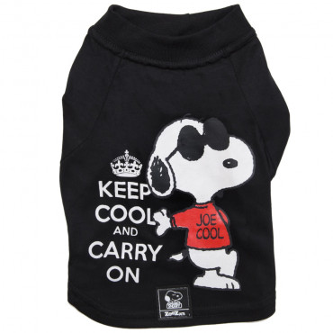 T-shirt Snoopy Keep Cool para cão
