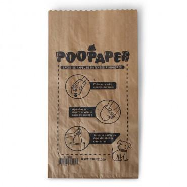 Poopaper sacos de papel para dejetos