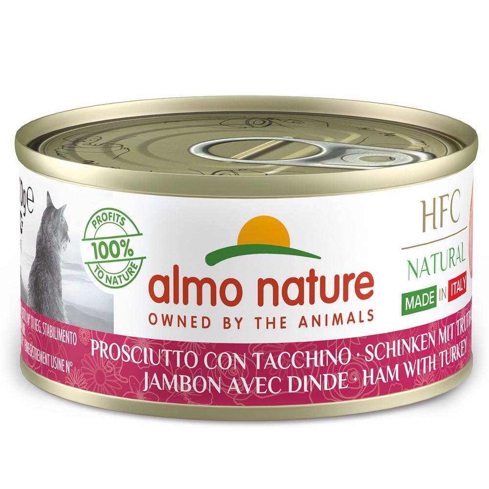 Almo Nature HFC Natural Gato - Fiambre e peru