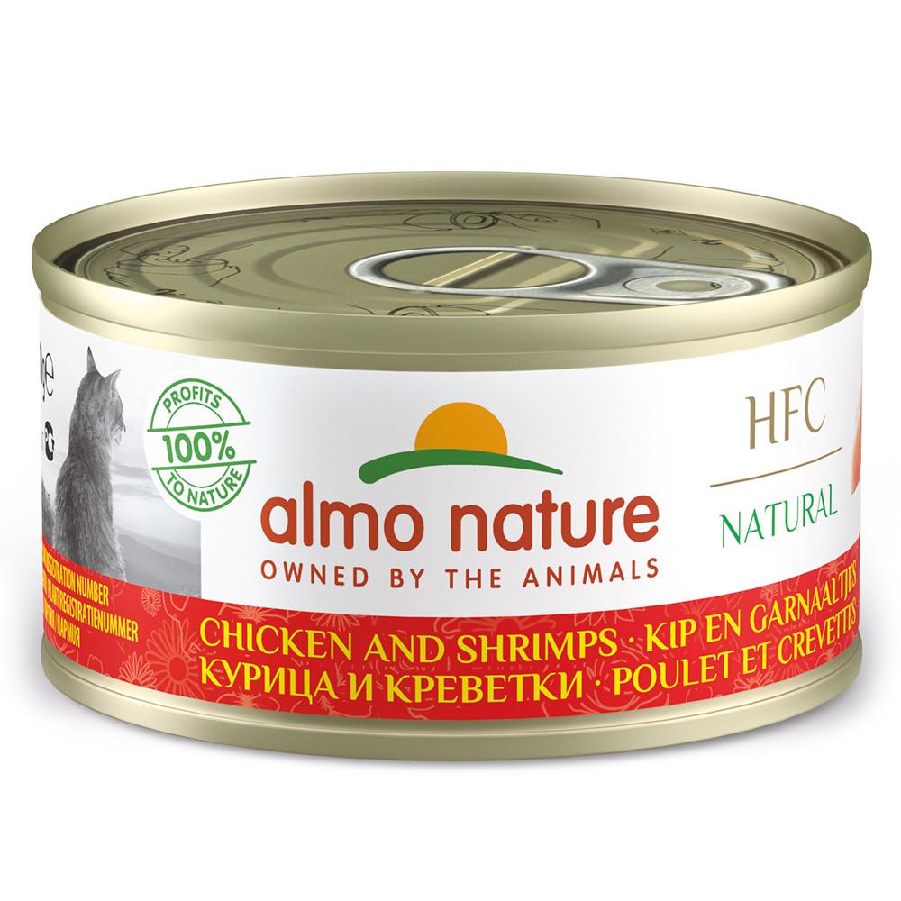 Almo Nature HFC Natural Gato - Frango e camarão