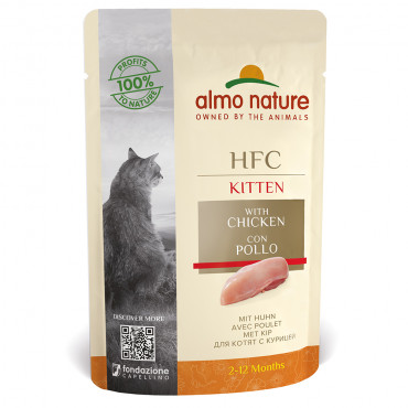 Almo Nature HFC Complete Kitten - Frango