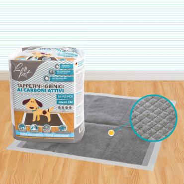 Resguardo absorvente com carvão 60 x 60 cm