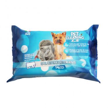Toalhitas de talco - Pet Cleaning
