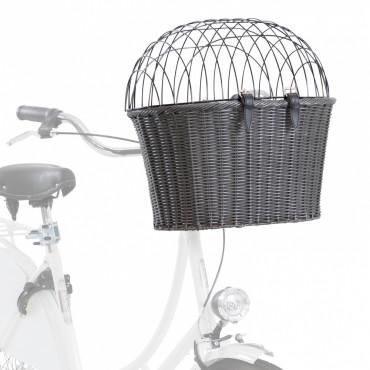 Cesto com colchão e tampa para bicicleta - Trixie