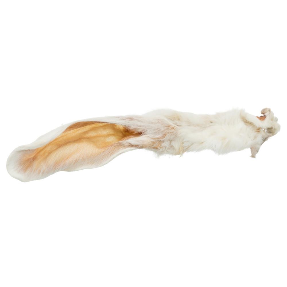 Orelhas de coelho com pelo