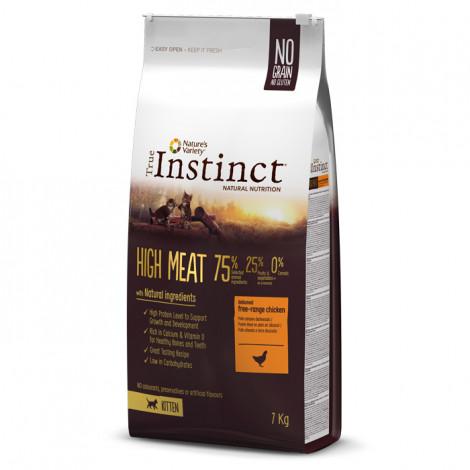 True Instinct High Meat Kitten - Frango