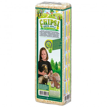 Fibras de pinho CHIPSI PLUS - aroma maçã