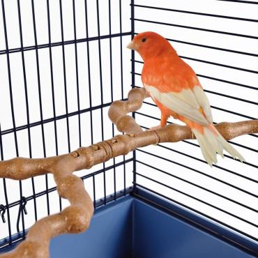 Kit Poleiro Ramo para aves