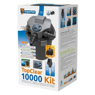 Conjunto de esponjas para filtro Topclear 10/15.000