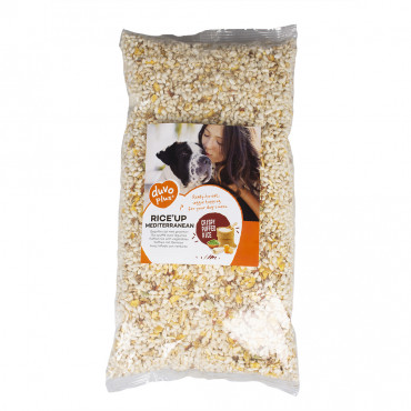 Alimento Rice'up Natural mediterrâneo para cães - Duvo+
