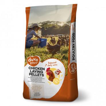 Alimento granulado para galinhas poedeiras - Duvo+