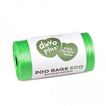 Sacos de dejetos biodegradáveis Eco - Duvo+