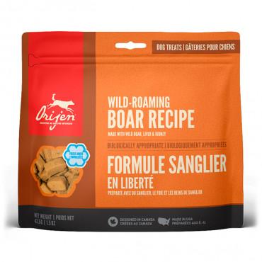 Orijen Wild-Roaming Boar Snacks para cão