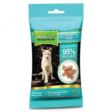 Natures Menu Snacks para gato - Frango e peru