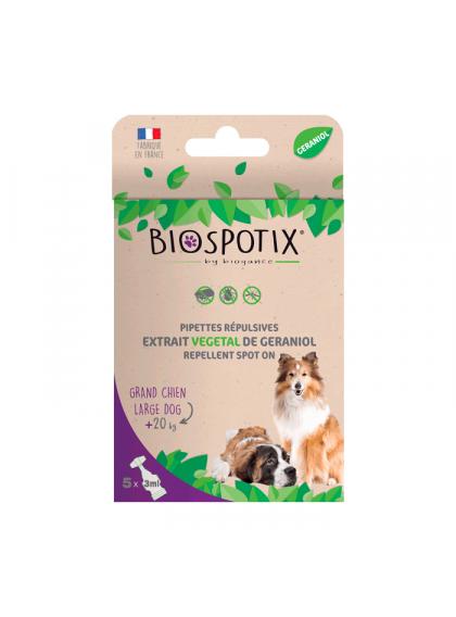 Pipetas Biospotix Spot On XL para cão - Biogance