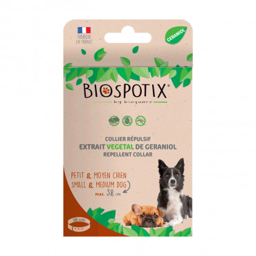 Biospotix Coleira Cão até 38 cm - Biogance