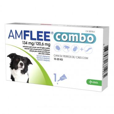 Pipetas para cão 10-20 kg Amflee Combo