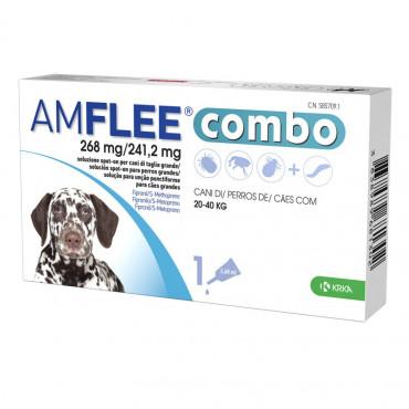 Pipetas Amflee Combo Cão 20 kg a 40 kg