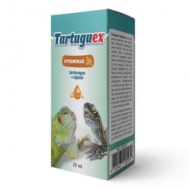 Tartuguex Vitaminas e aminoácidos para tartarugas