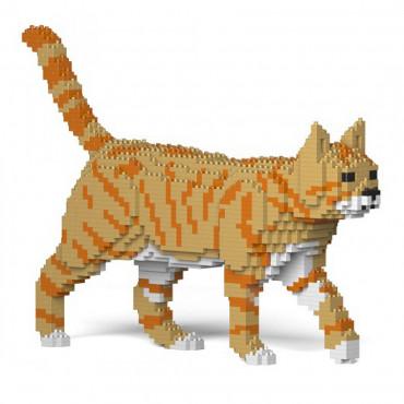 JEKCA Blocos de construção - Gato laranja