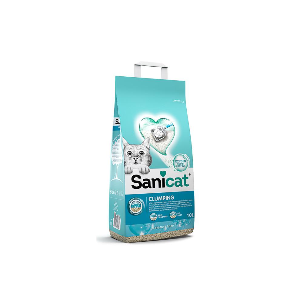 Areia aglomerante Marseille Soap - Sanicat