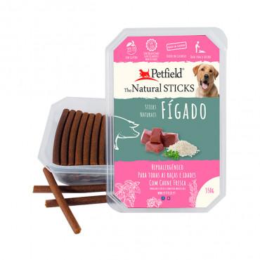 Petfield Natural Sticks para cão 350g – Fígado