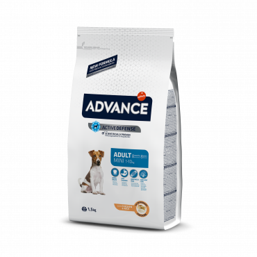Advance Cão Mini Adulto - Frango e arroz